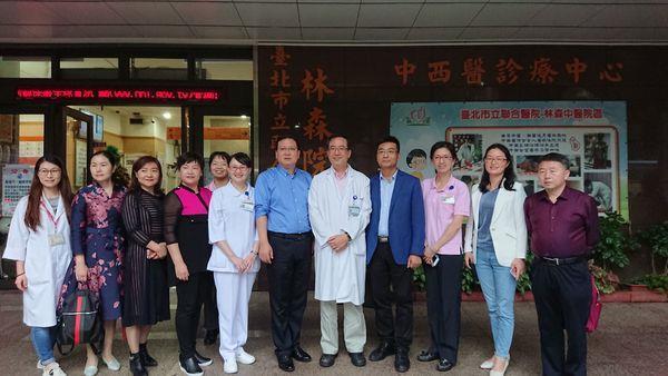 107.12.06 陝西省安康市中醫醫院 陳愛德科長等8人參訪