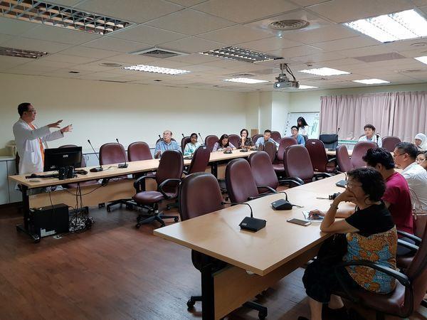 107.08.17 衛生福利部台北醫療國際醫療團參訪