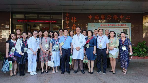 107.06.07南寧市衛生和計劃生育委員會副主任 仇家興等15人參訪;參訪主題:中醫管理、中西醫結合、中醫特色、居家訪視。