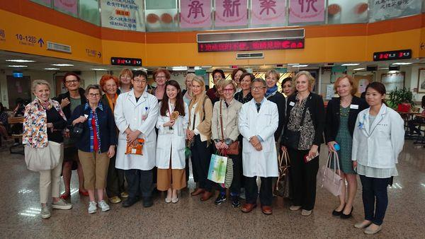 107.04.26 歐洲婦女學會參訪 EWMD – an international network built by women for women in management Yen, Cheng率團隊共36人至中醫中心參訪