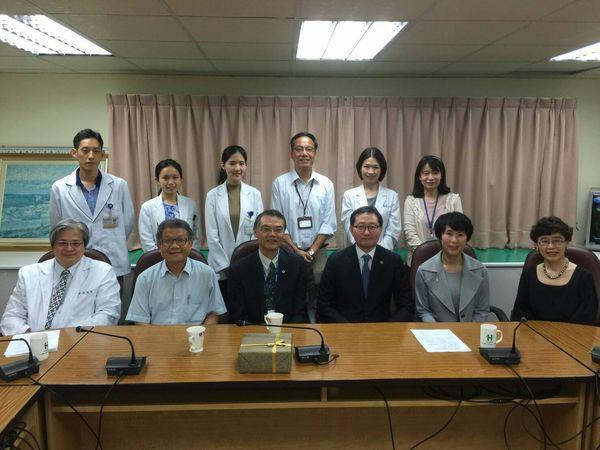 105.10.19韓國醫學協會蒞臨中醫中心參訪