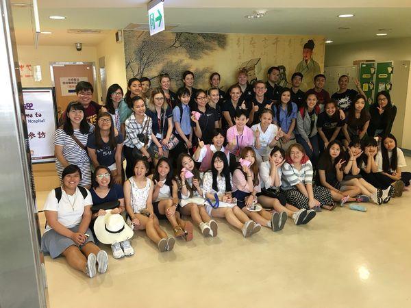 105.07.11國立台北護理健康大學參訪