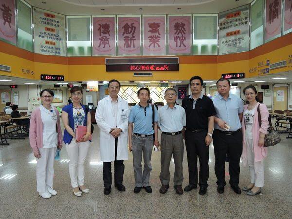 105.05.11 青島市第五人民醫院 丁文龍院長 蒞臨中醫中心參訪