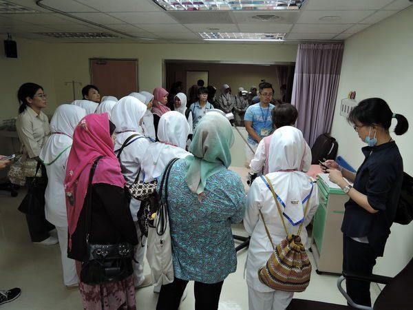 104年度0807-國北護之「國際暨兩岸健康照護研習班」參訪中醫中心-3