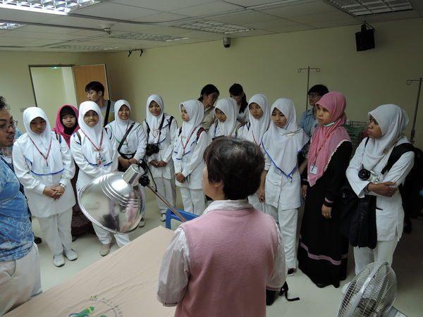 104年度0807-國北護之「國際暨兩岸健康照護研習班」參訪中醫中心-4