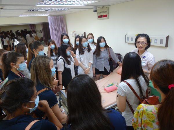 104年度0709-國北護之「國際暨兩岸健康照護研習班」參訪中醫中心-3