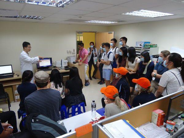104年度0709-國北護之「國際暨兩岸健康照護研習班」參訪中醫中心-4