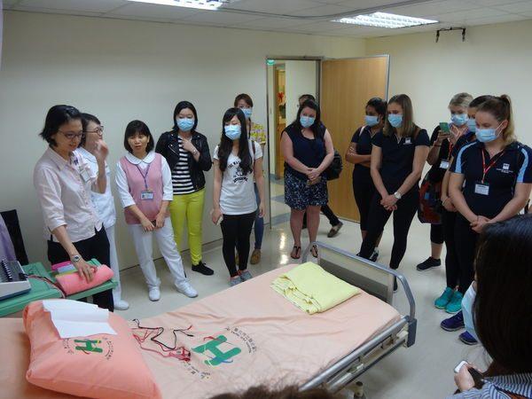 104年度0709-國北護之「國際暨兩岸健康照護研習班」參訪中醫中心-2