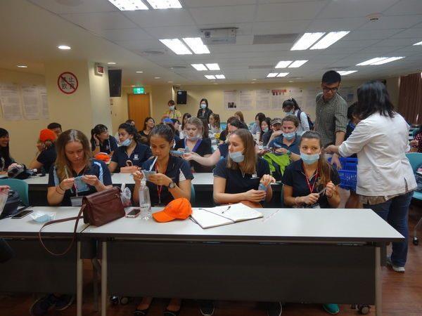 104年度0709-國北護之「國際暨兩岸健康照護研習班」參訪中醫中心-7