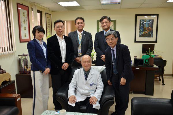 104.04.01-香港港安健康管理集團5人參訪林森院區