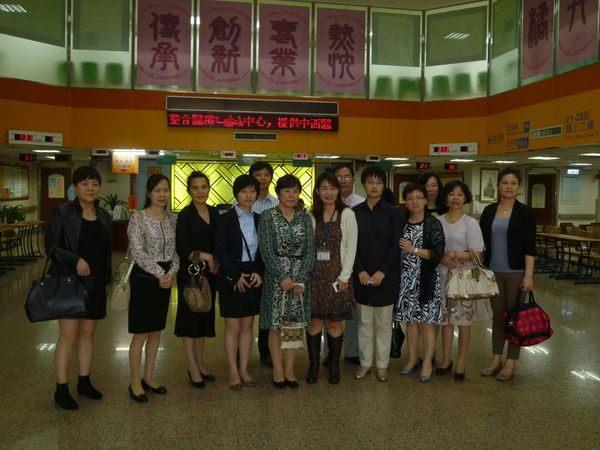 101.10.29-上海市第八人民醫院參訪團