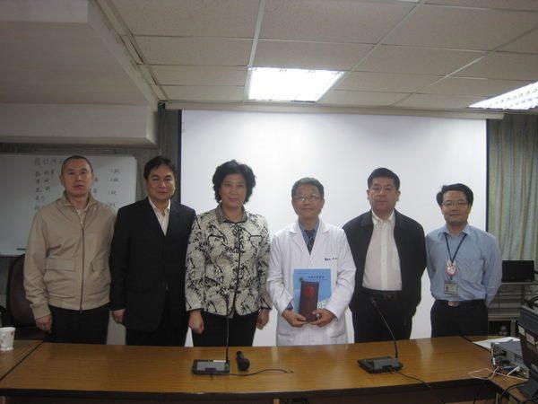 100.04.11-大陸北京中醫醫院院長級專家學者至中醫院區參訪