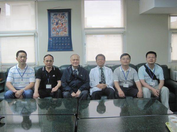 100.05.17-大陸泉州第一醫院醫事人員參訪