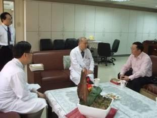 99.03.15上海市立中醫醫院吳菊生副主任醫師副教授來台參訪