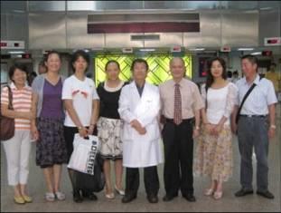 99.08.05大陸內蒙古自治區醫師來台參訪(6人)