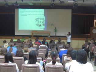 99.09.28美國學生Augustana College一行80人至中醫門診中心參訪