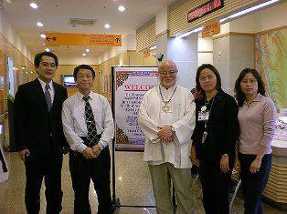 97年度1202中西醫結合病房在台灣-歐洲ICMART秘書長來訪