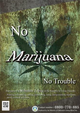 No Marijuana No Trouble