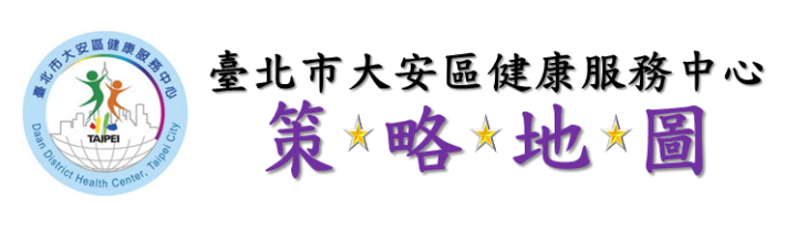 [另開新視窗]臺北市大安區健康服務中心策略地圖