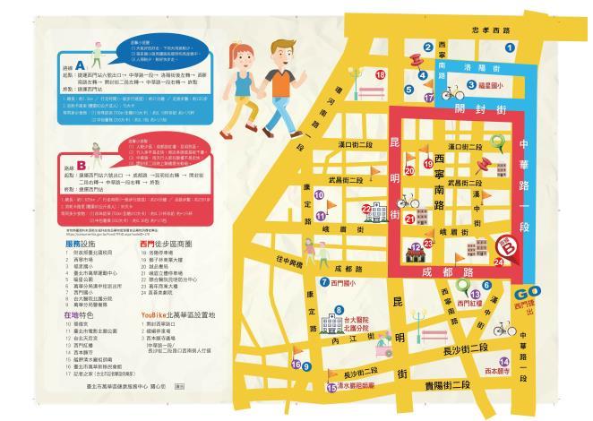 萬華健康中心-01-都會型商業社區之運動地圖
