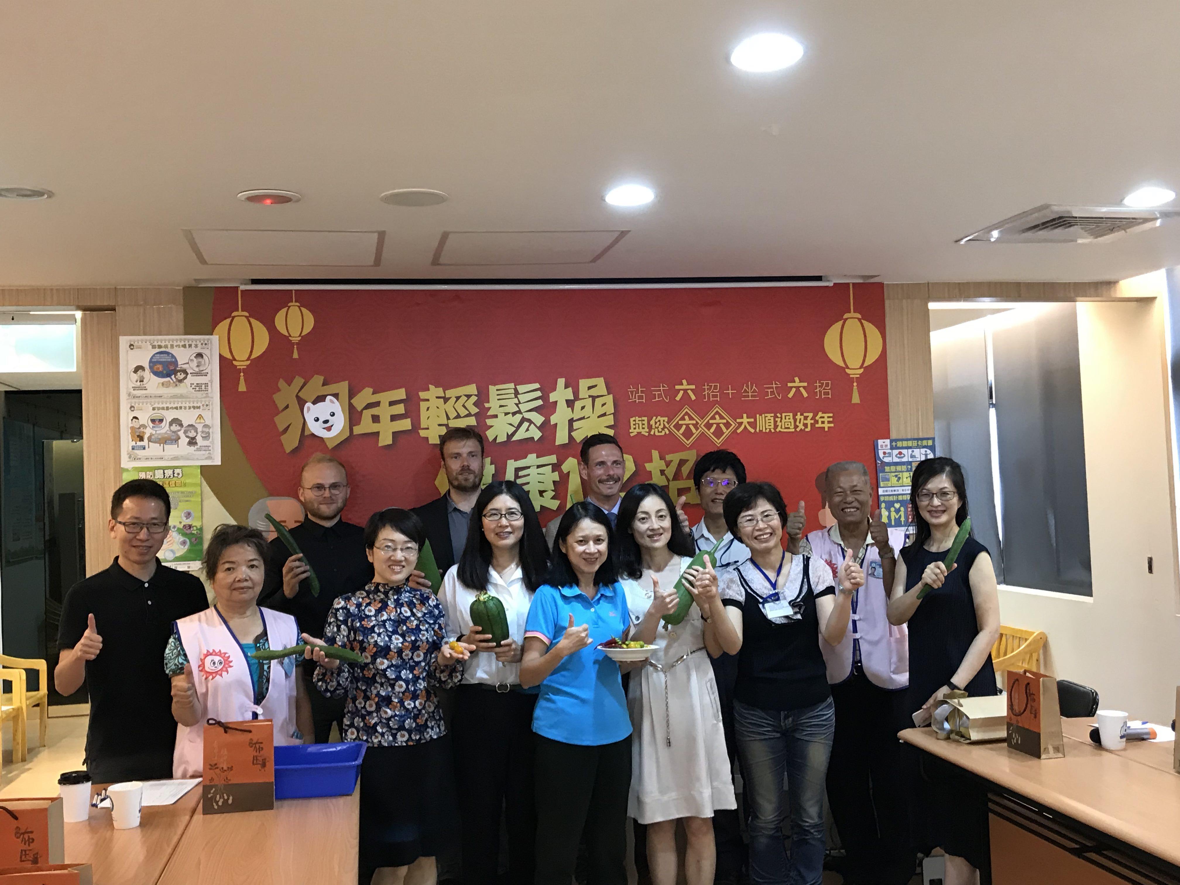 1070612丹麥商務辦事處偕同丹麥外交部駐北京大使館的健康與生命科學團隊