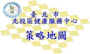 臺北市立北投區健康服務中心108年策略地圖