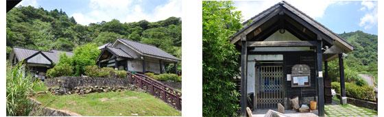 左右二圖皆為冷水坑公共溫泉浴室 (免費)