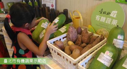 蔬果示範店