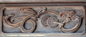 門廳、雕飾