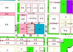 信義段四小段32、33-2地號地籍圖