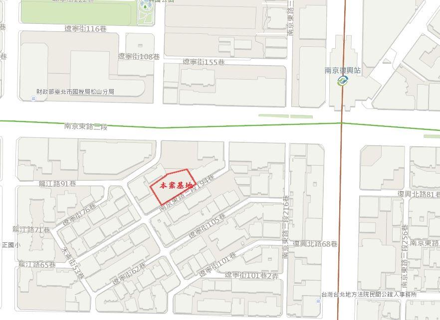 捷運南京東路站位置
