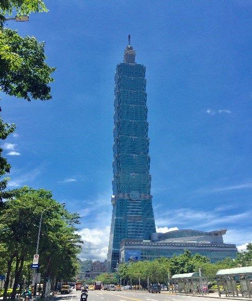 臺北101大樓外觀圖