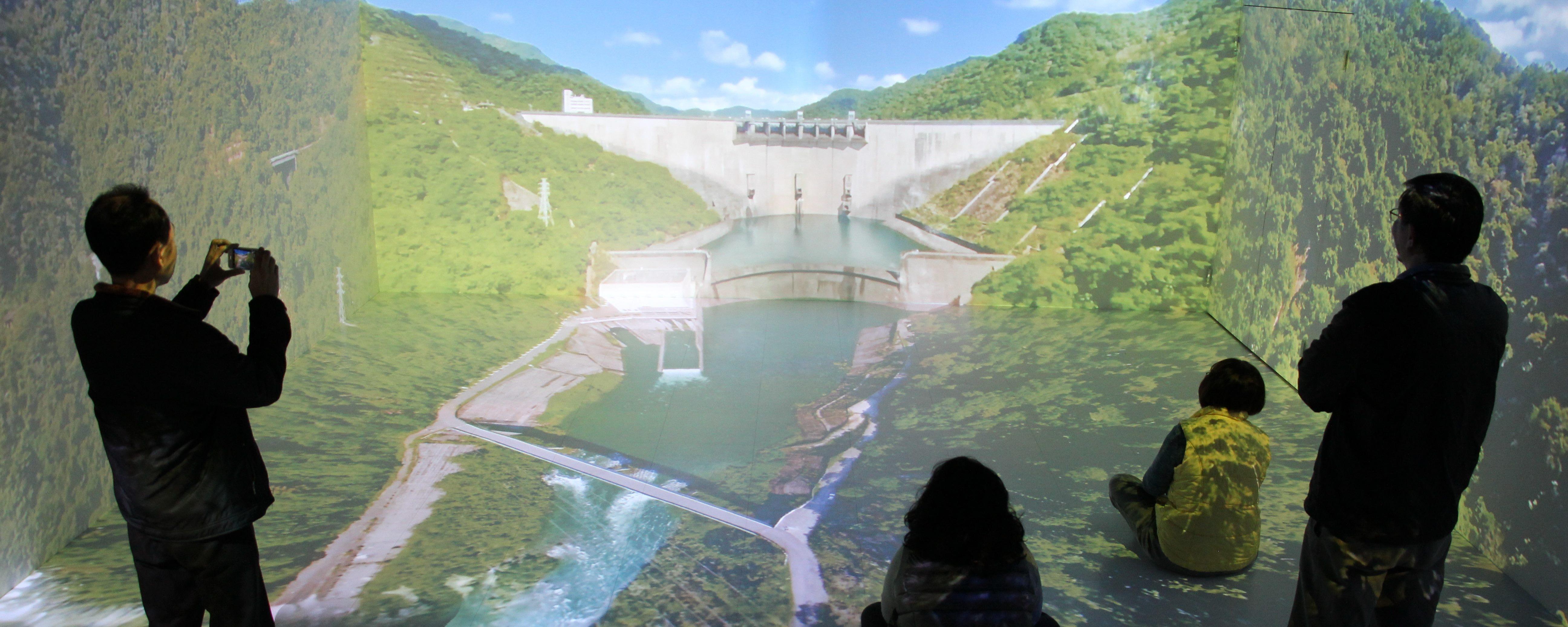 翡翠水庫水域虛擬實境(VR)導覽體驗