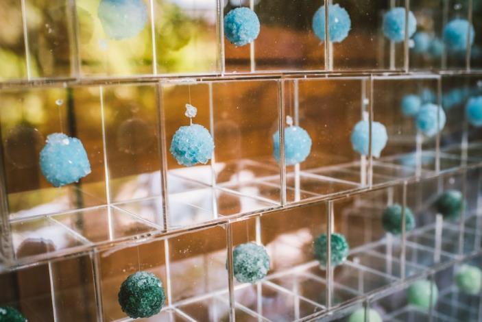 《蘊藏-石》藝術裝置地點:瀧乃湯溫泉浴室