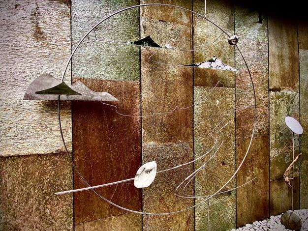《蘊藏-山》藝術裝置地點:嘉賓閣溫泉會館