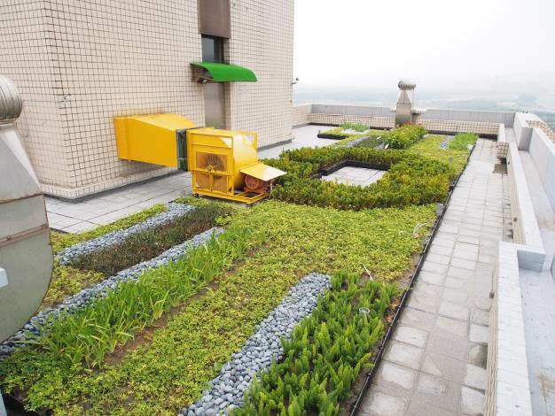 中租雙星屋頂綠化