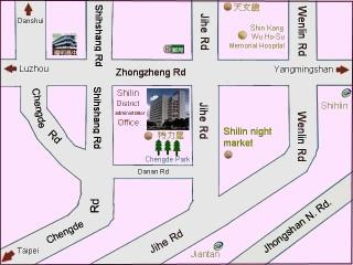 location of Shilin Land Office