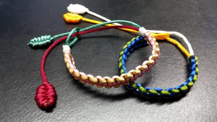 multicolored bracelets[Open in new window]