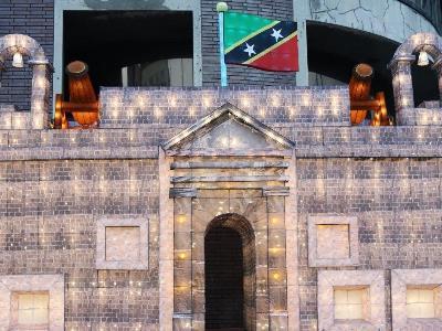Caribbean Fortress Debuts at Taipei Lantern Festival
