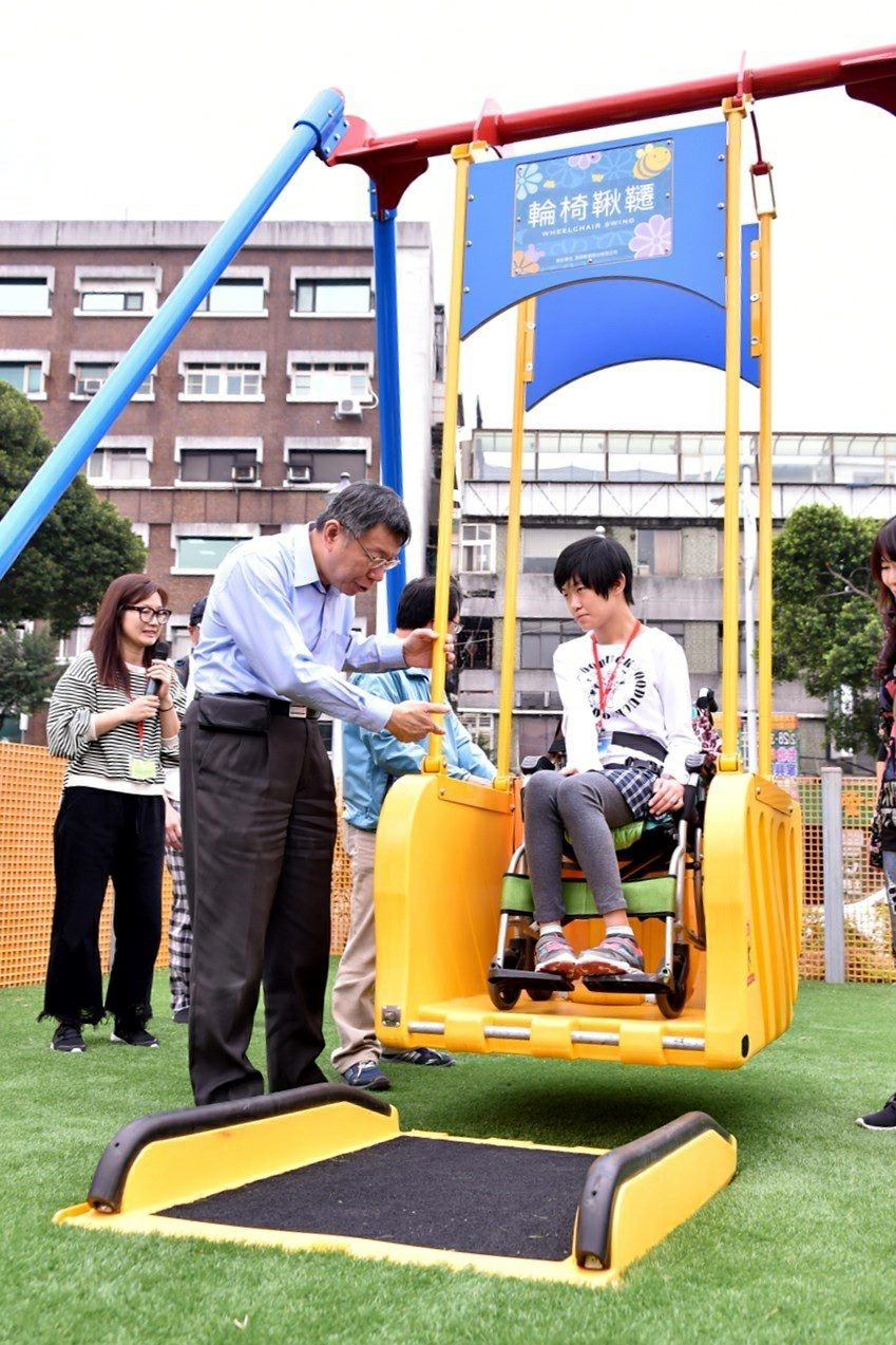 Expo Hall Unveils Inclusive Playground for Kids