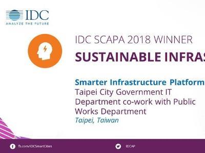 Taipei Wins 2018 IDC SCAPA Awards