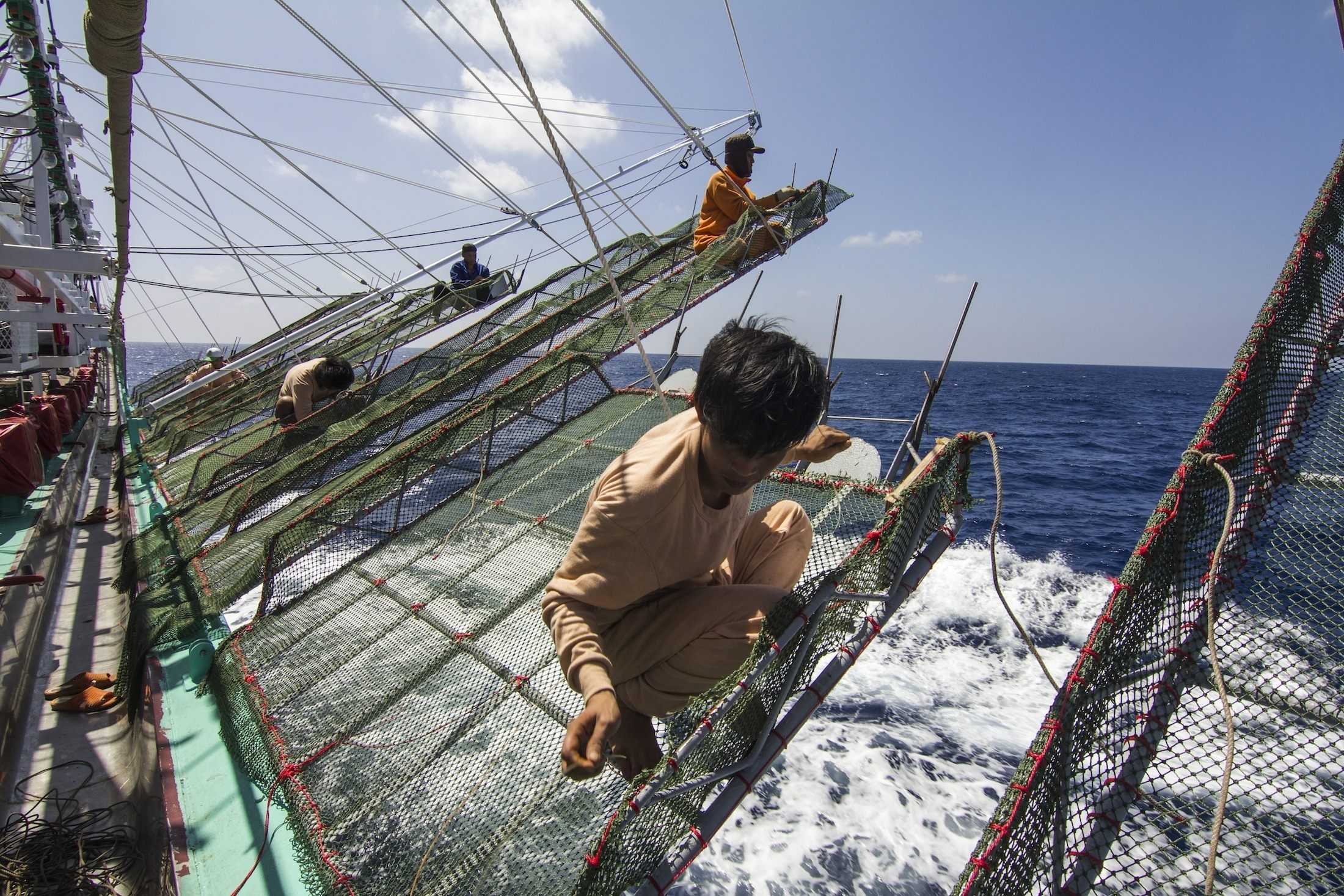 Documentary on Deep Sea Fishing Claims DOL Labor Film Award