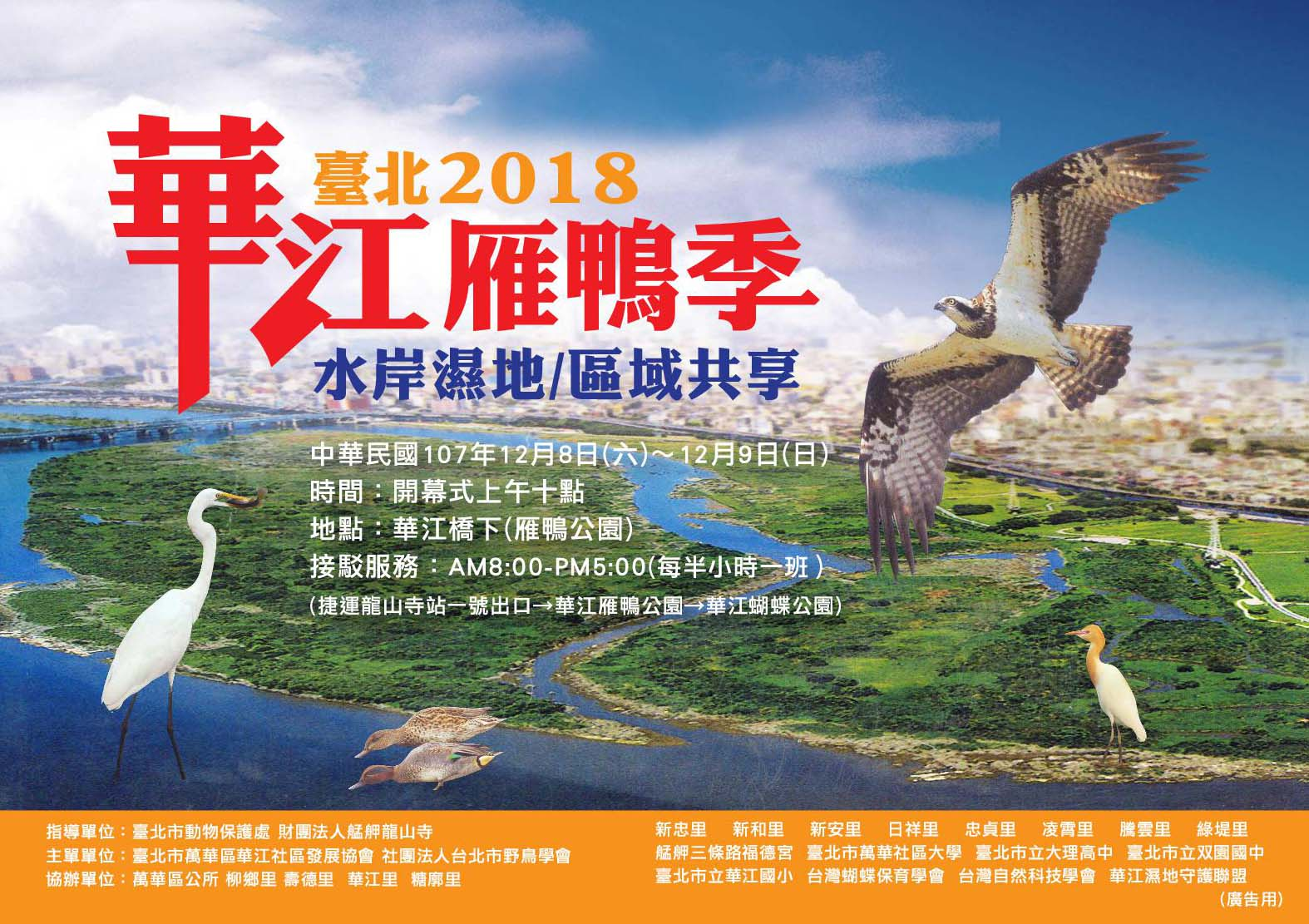 Welcoming the Waterfowl Season at Huajiang Nature Park