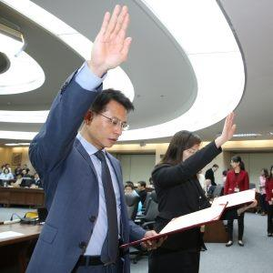 New Information and Technology Commission Lu Hsin-ke Takes Office