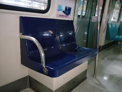 TRTC Adds Armrests to MRT Priority Seats to Improve Comfort and Safety