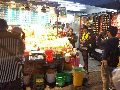 44 Shilin Night Market Fruit Stalls Fined in January 2019