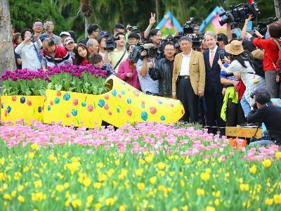 Mayor: Check Out theTulip Show at Shilin Residence