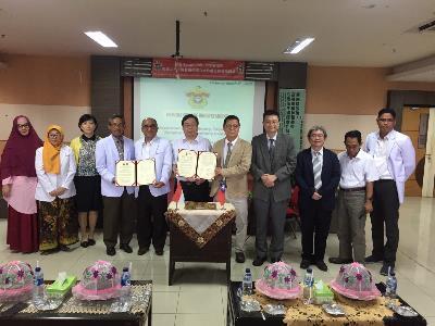 Taipei City Hospital Inks Deal with Indonesia's Hasanuddin University Faculty of Medicine