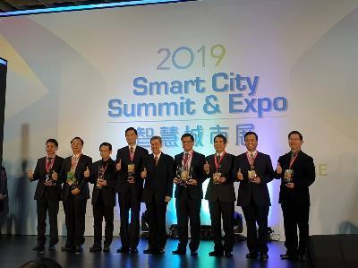 TCPD Wins Smart City Innovation Award for WORK SMART Platform
