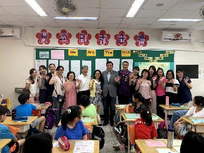Air Con Activation Ceremony at Binjiang Elementary School